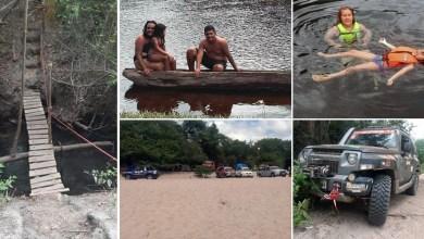 Photo of Chapada: Aventureiros de Barra do Mendes realizam expedição e conhecem ponto turístico de Nova Redenção