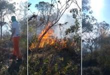 Photo of Chapada: Incêndio criminoso em Ituaçu tem reignição após intenso combate; brigadistas apontam falta de equipamentos