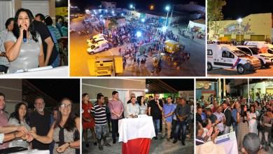 Photo of Chapada: Equipamentos públicos são entregues à população durante evento com autoridades em Nova Redenção
