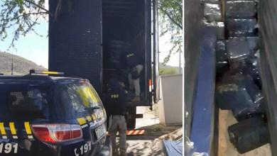 Photo of #Bahia: PRF prende casal com mais de uma tonelada de maconha em carga de colchões