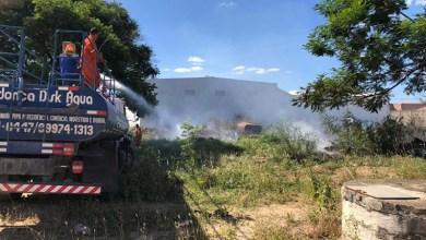 Photo of Chapada: Incêndios atingem bairros de Jacobina e são debelados por populares e equipes da prefeitura