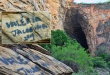 Photo of Chapada: Pichações na região de ponto turístico em Morro do Chapéu indignam internautas