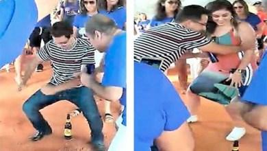 Photo of Chapada: Prefeito de Rio de Contas 'mete' dança e vai até o chão na 'boquinha da garrafa'