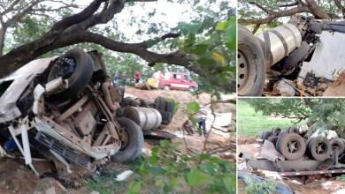 Photo of Chapada: Grave acidente entre carreta e moto deixa três mortos na região de Seabra