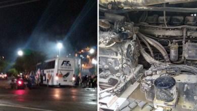 Photo of Chapada: Passageiros entram em pânico após mangueira de ar quente de ônibus da Falcão Real estourar