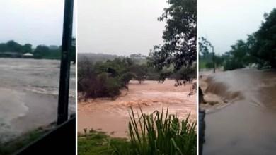 Photo of #Vídeo: Município goiano fica embaixo d'água após represa romper durante chuvas na região
