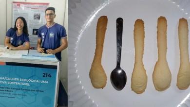 Photo of #Bahia: Estudantes do município de Ibiassucê desenvolvem talheres comestíveis; saiba detalhes