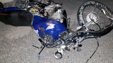 Photo of Chapada: Colisão entre motocicleta e caminhão deixa um morto próximo ao aeroporto de Jacobina