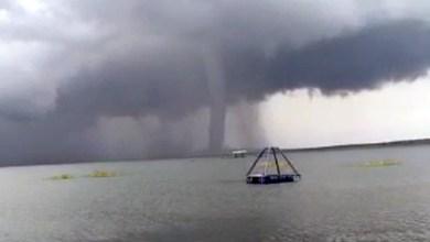 Photo of #Bahia: Tromba d'água na Barragem de Sobradinho assusta visitantes; confira os vídeos