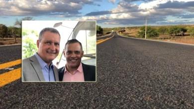 Photo of Chapada: Asfalto da BA-245 entre Itaetê e o entroncamento de Andaraí vai sair; prefeito Valdes celebra