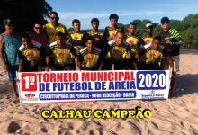 Photo of Chapada: Torneio de Futebol de Areia de Nova Redenção premia campeão e vice após final disputada entre Calhau e Queimadas