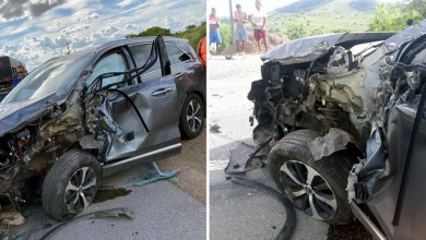 Photo of Chapada: Prefeito de Jacobina e familiares sofrem acidente na BR-324; todos passam bem