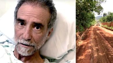 """Photo of Chapada: Doutor Áureo sofre acidente em casa e reclama da estrada entre o Vale do Capão e a sede de Palmeiras; """"Sofri pacas"""""""