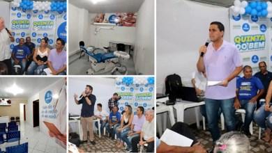 Photo of Chapada: Prefeito de Itaberaba inaugura posto de saúde durante o 'Quinta do Bem' e anuncia novo Cras