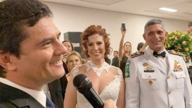 Photo of #Vídeo: Ministro Sérgio Moro dança valsa e discursa durante festa de casamento da deputada Carla Zambelli
