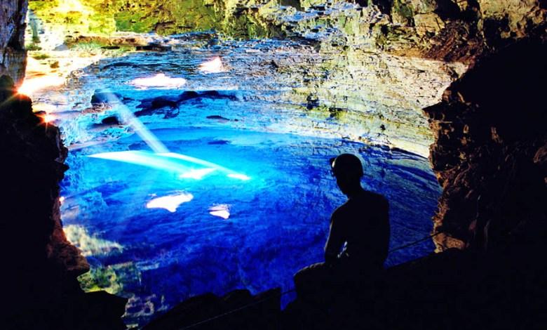 Photo of #Chapada: Mês de abril inicia período propício para visitação do Poço Encantado; raios solares causam efeito visual