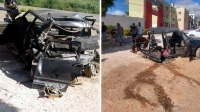 Photo of Chapada: Acidente envolvendo carreta e carro de passeio deixa feridos na região de Seabra; veja vídeo