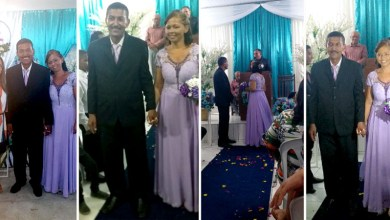 Photo of Chapada: 'João do Sindicato' e Luzia se casam em cerimônia evangélica no município de Boa Vista do Tupim