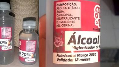 Photo of Chapada: Consumidores denunciam farmácia por venda de álcool em gel falsificado no município de Mucugê