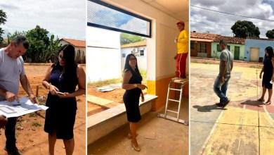 Photo of Chapada: Prefeita de Nova Redenção destaca obras em andamento e esclarece situação de quadra