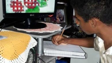 Photo of Chapada: Estudantes estabelecem rotina de estudos virtuais no município de Várzea da Roça