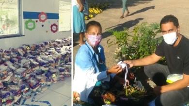 Photo of #Chapada: Em Itaberaba, o enfrentamento à Covid-19 e aos efeitos da pandemia não param; kits alimentação e distribuição de máscaras estão entre as ações