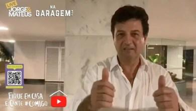 Photo of Ministro da Saúde diz que fica no cargo; Bolsonaro não gostou da aparição de Mandetta em live de sertanejos