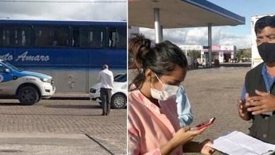Photo of #Chapada: Outro ônibus clandestino é flagrado por equipes da vigilância sanitária na região de Morro do Chapéu
