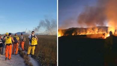 Photo of #Chapada: Brigadistas voluntários rompem quarentena no Vale do Capão e debelam incêndio no Gerais do Vieira