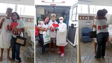 """Photo of #Chapada: """"Tive uma nova chance de vida"""", revela morador de Itaberaba após vencer a covid-19 com ajuda da esposa"""