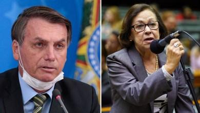"""Photo of """"Bolsonaro tem uma mente sombria e que cultua e reverencia a morte o tempo inteiro"""", dispara Lídice sobre decreto do uso de máscaras"""