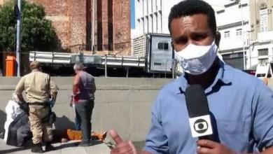 Photo of #Vídeo: Repórter da Rede Globo salva homem que foi eletrocutado e entra no ar para dar a notícia