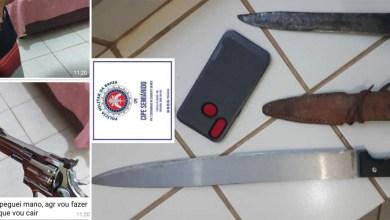 Photo of #Bahia: Homem que ameaçou esposa de morte é preso por policiais da Cipe-Semiárido em Xique-Xique