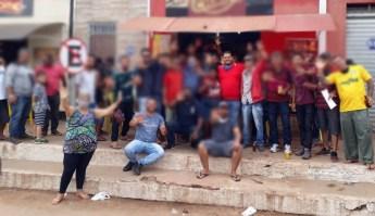 Prefeito e grupo político causam aglomerações rotineiras no município   FOTO: Reprodução/Facebook  