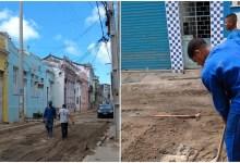 Photo of #Bahia: Grupo com farda de operário invade obra em rua de Salvador e rouba fios de cobre em ação inusitada