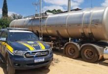 Photo of #Chapada: PRF apreende quase R$100 mil em carga de combustível transportada sem nota fiscal na região