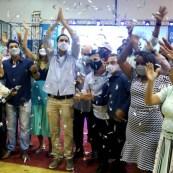 A convenção anunciou também os nomes dos candidatos que disputam as 15 vagas na Câmara | FOTO: Jornal da Chapada |