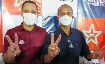 Valdes vai para a reeleição com Gevaldo Barberino na vice | FOTO: Divulgação |