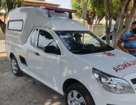 A ambulância foi entregue no último domingo | FOTO: Divulgação |