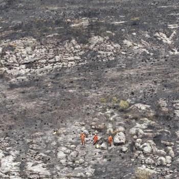 Incendio extinto em Chapada Diamantina FOTO Paula Fróes-GOVBA 2
