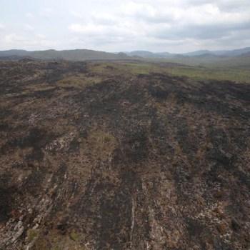 Incendio extinto em Chapada Diamantina FOTO Paula Fróes-GOVBA 3