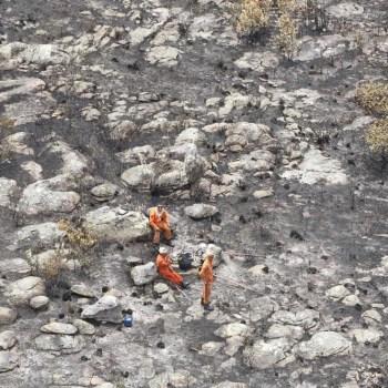 Incendio extinto em Chapada Diamantina FOTO Paula Fróes-GOVBA 5
