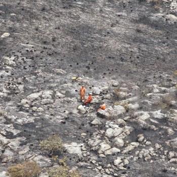 Incendio extinto em Chapada Diamantina FOTO Paula Fróes-GOVBA 6