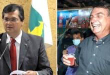 """Photo of #Vídeo: """"Virei boiola, igual maranhense"""", diz Bolsonaro ao beber refrigerante rosa; governador rebate presidente"""
