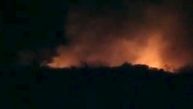 Photo of #Chapada: Incêndio consome vegetação entre Mucugê e Andaraí; fogo é próximo da entrada de Igatu