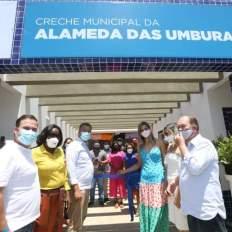 Inauguração contou com lideranças e membros dos governos municipal e estadual | FOTO: Divulgação |