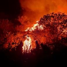 incêndio em mucuge e andaraí - foto Sematur-Divulgação