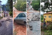 Photo of #Chapada: Mundo Novo registra prejuízos causados pela chuva no final de semana; via ficou interditada