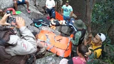 Photo of #Chapada: Jovem fica ferido após cair na Cachoeira do Ferro Doido; local precisa de estruturação urgente
