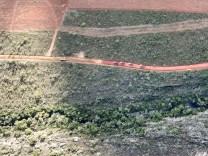 A fazenda fica na zona rural de Piatã e os moradores estão indignados com o desmatamento | FOTO: Divulgação |